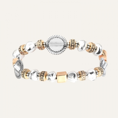 Bracelet Médailles L'Essence du Cœur