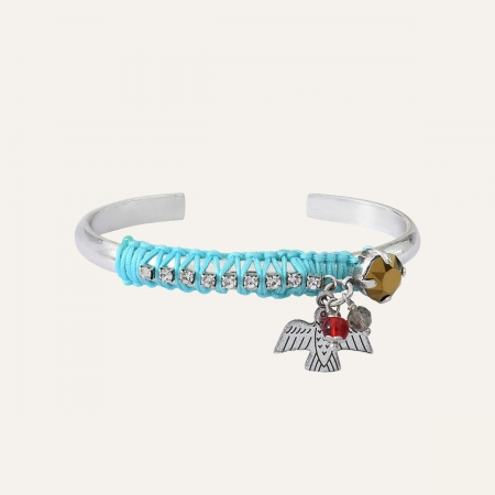 Bracelet Jonc Turquoise Ibiza