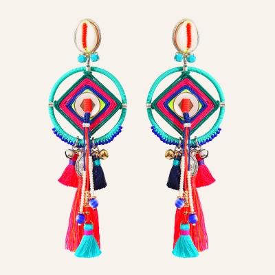 Boucles d'oreilles clip Goa
