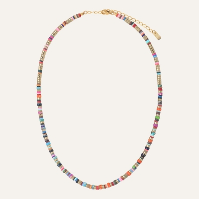 Collier Californie Multicolore