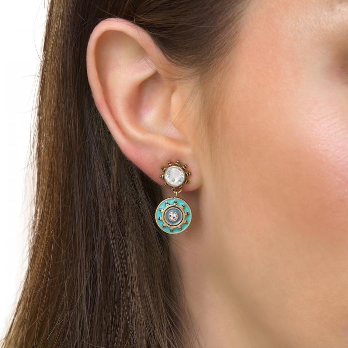 Boucles d'oreilles Raphias Raffinés