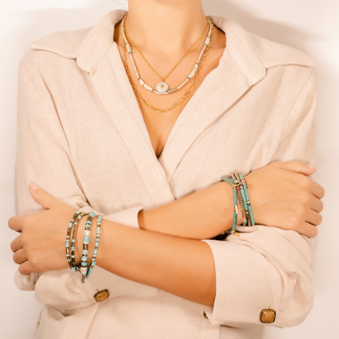 Bracelet pampilles californie