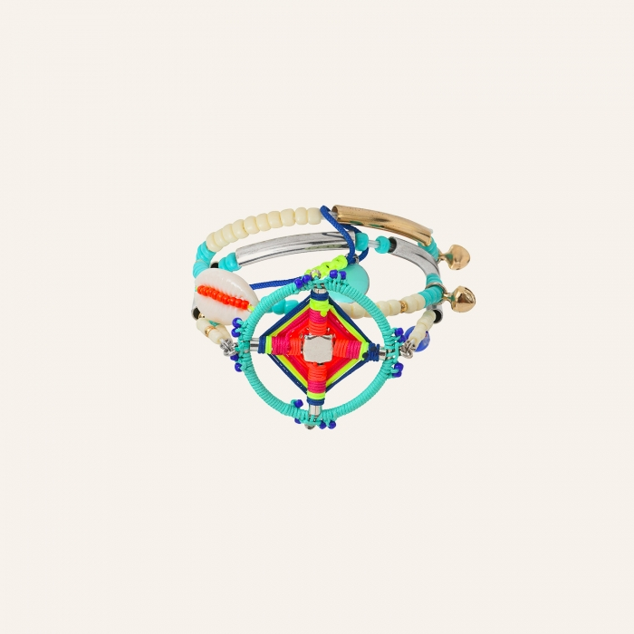 Bracelet double rang Goa