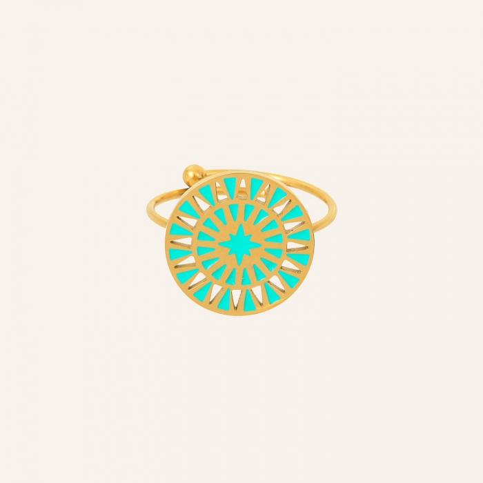 Bague maya turquoise soul