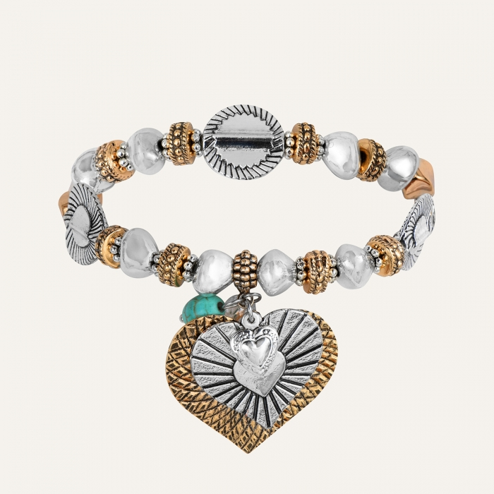 Bracelet Médaillons L'Essence du Cœur