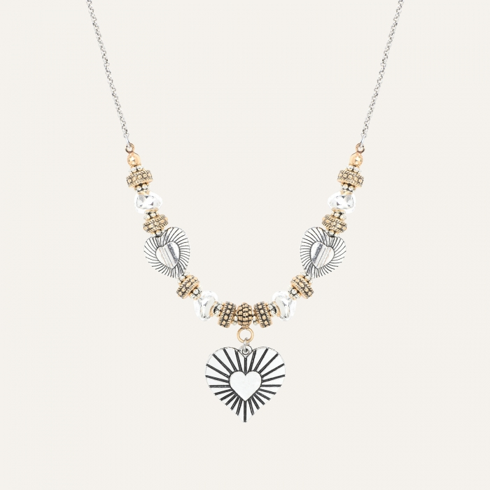 Collier Médaillon L'Essence du Cœur