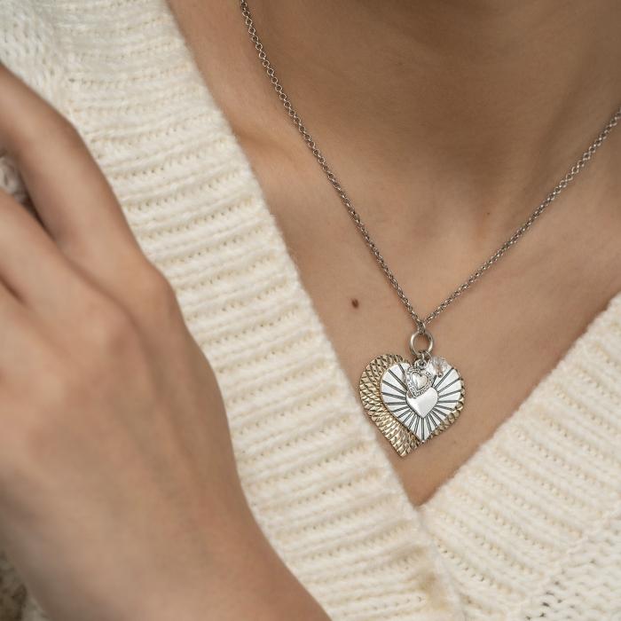 Collier Pendentifs L'Essence du Cœur