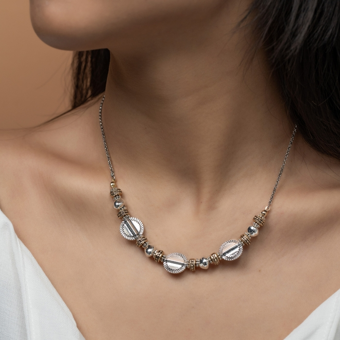 Collier Médailles L'Essence du Coeur