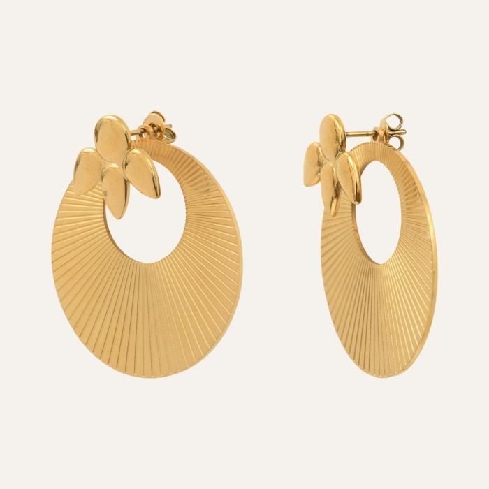 Boucles d'oreilles Pétales Gold is Back
