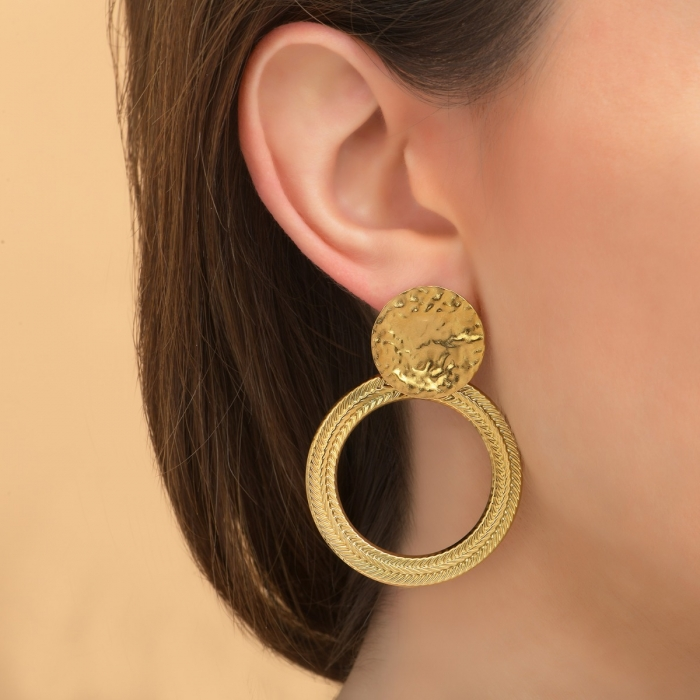 Boucles d'oreilles Épi Gold is Back