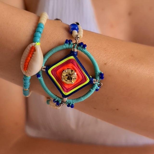Video bijou : Bracelet double rang Goa