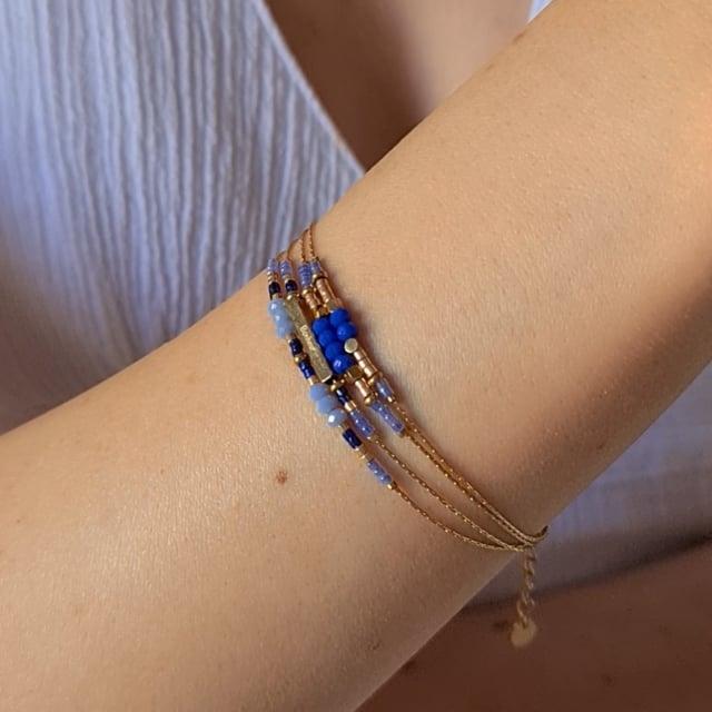 Video bijou : Bracelet grigris esprit boheme bleu
