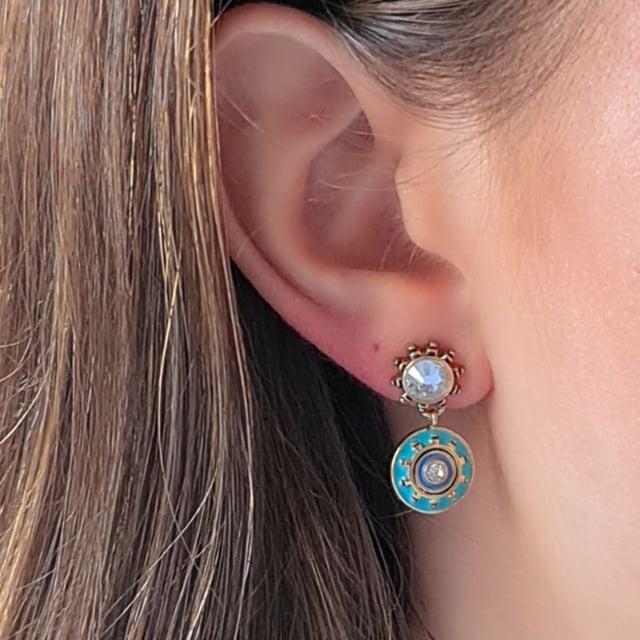 Video bijou : Boucles d'oreilles Raphias Raffinés