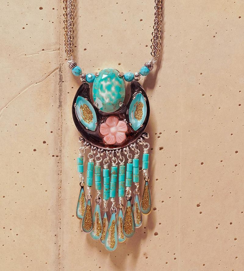 Ethnic turquoise, bijoux