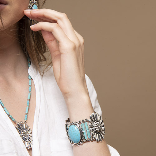 collection Ethnic Turquoise